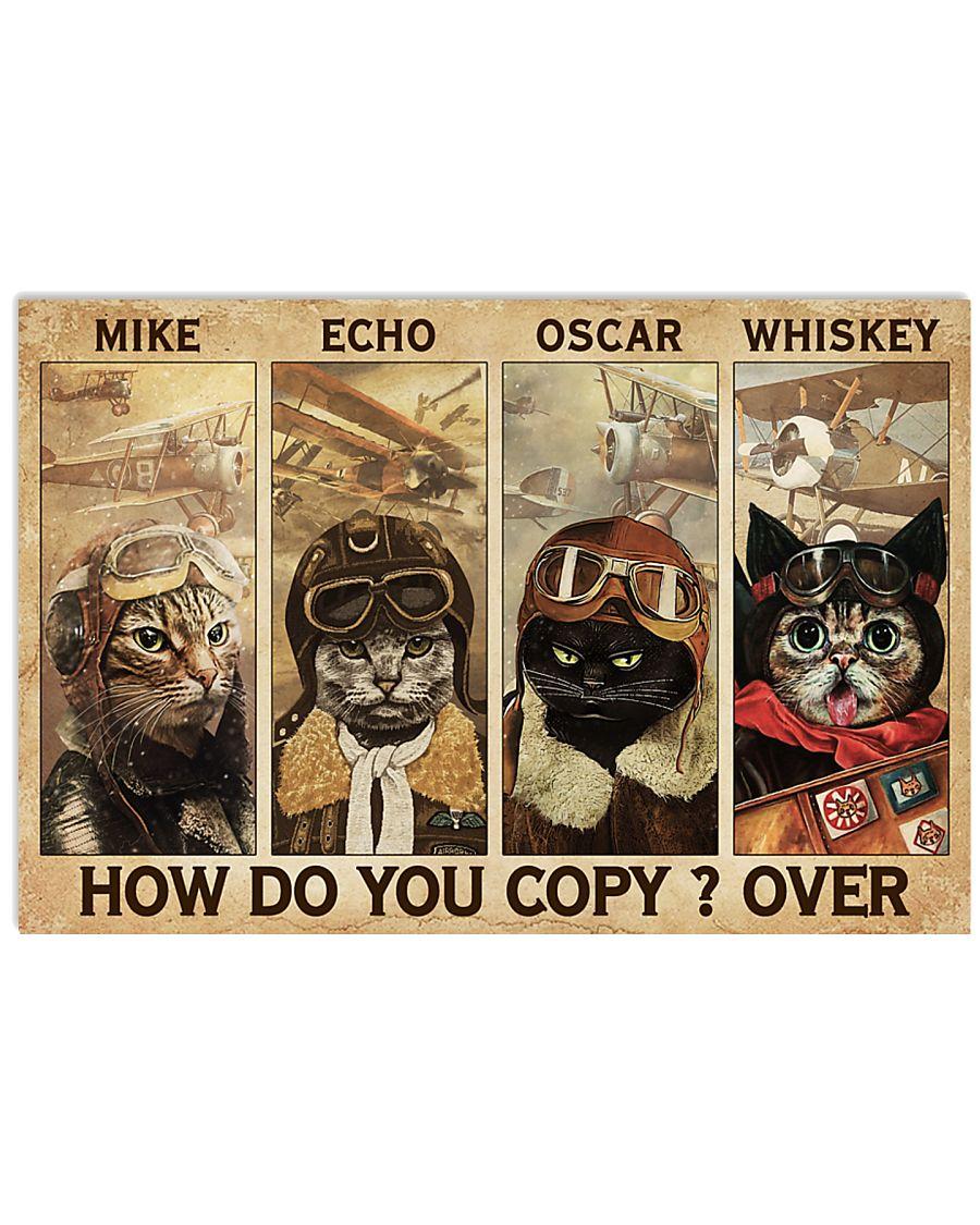 Cats Pilot How Do You Copy 24x16 Poster