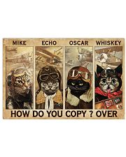 Cats Pilot How Do You Copy 24x16 Poster front