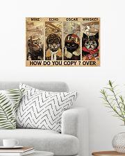 Cats Pilot How Do You Copy 24x16 Poster poster-landscape-24x16-lifestyle-01