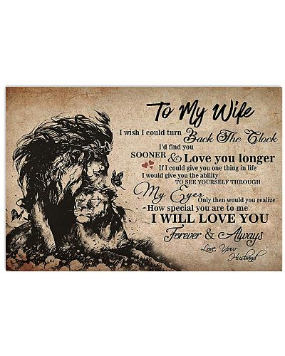 To My Wife From Lion Husband With Love
