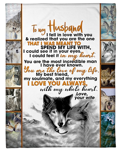 Wife To Husband Spend My Life Wolf