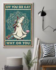 Retro Eff You See Kay Unicorn 11x17 Poster lifestyle-poster-1