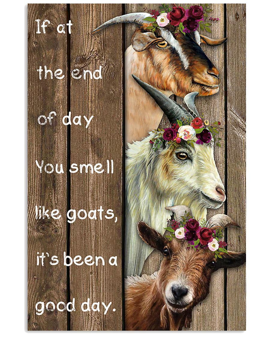 Wood Piece You Smell Like Goats 11x17 Poster