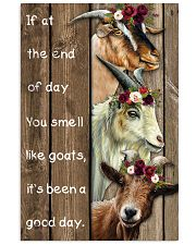 Wood Piece You Smell Like Goats 11x17 Poster front