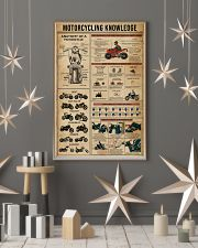 Knowledge Motorcycling 16x24 Poster lifestyle-holiday-poster-1