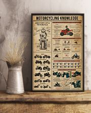 Knowledge Motorcycling 16x24 Poster lifestyle-poster-3