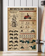 Knowledge Motorcycling 16x24 Poster lifestyle-poster-4