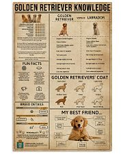 Golden Retriever Knowledge 11x17 Poster front
