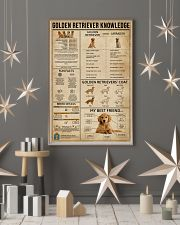 Golden Retriever Knowledge 11x17 Poster lifestyle-holiday-poster-1