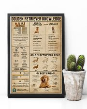 Golden Retriever Knowledge 11x17 Poster lifestyle-poster-8