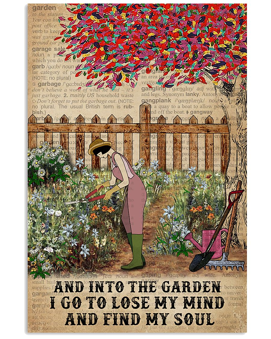 Dictionary Find My Soul Gardening 16x24 Poster