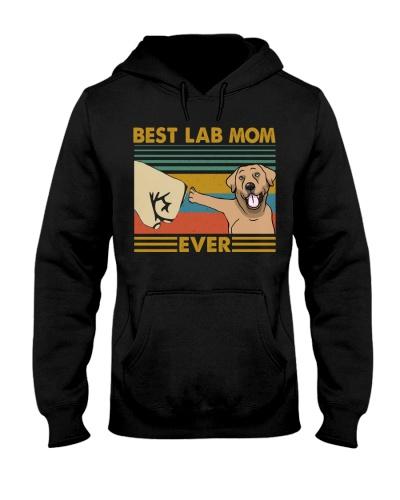 Retro Blue Best Labrador Retriever Mom Ever