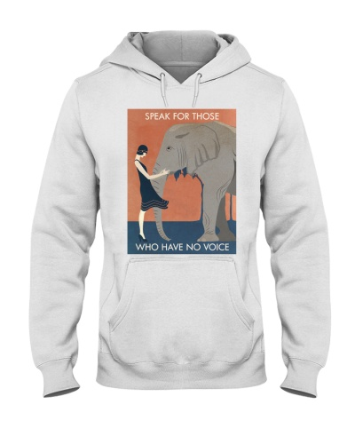 Vintage Girl Elephant Speak For Those