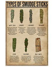 Types Of Smudge Sticks Witchery  11x17 Poster front