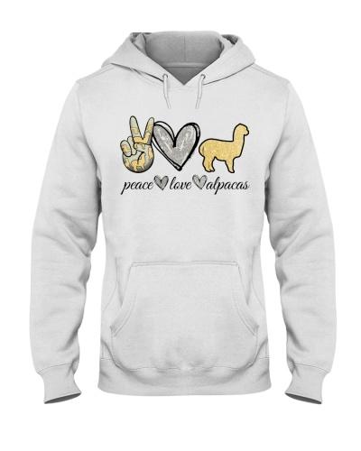 Peace Love Alpacas:Printed