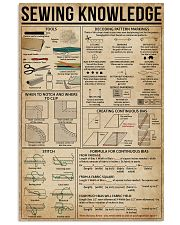 Sewing Knowledge 11x17 Poster front