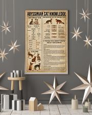 Abyssinian Cat Knowledge 11x17 Poster lifestyle-holiday-poster-1