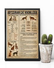 Abyssinian Cat Knowledge 11x17 Poster lifestyle-poster-8
