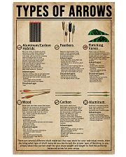 Types Of Arrows Archery 11x17 Poster front