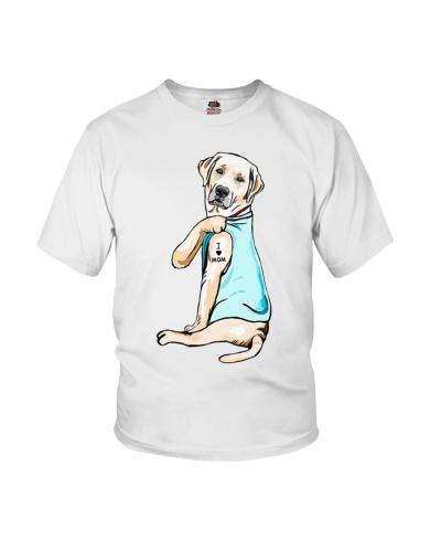 I Love Mom Tattoo Labrador Retriever