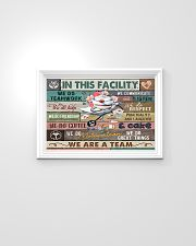 Nurse In This Facility We Do Teamwork 24x16 Poster poster-landscape-24x16-lifestyle-02