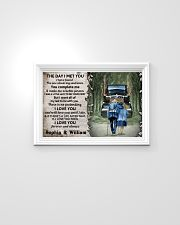 Personalized Truck The Day I Met 24x16 Poster poster-landscape-24x16-lifestyle-02