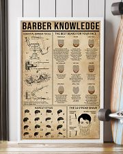Barber Knowledge 16x24 Poster lifestyle-poster-4