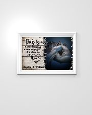 Personalized Sea Turtle A Little Bit Of 24x16 Poster poster-landscape-24x16-lifestyle-02