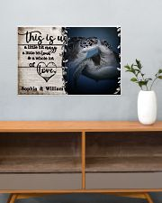 Personalized Sea Turtle A Little Bit Of 24x16 Poster poster-landscape-24x16-lifestyle-25