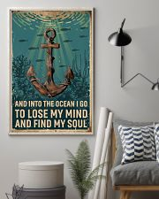 Retro Ocean Find My Soul Sailor 11x17 Poster lifestyle-poster-1