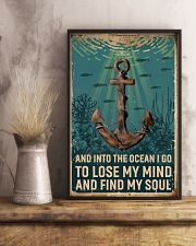 Retro Ocean Find My Soul Sailor 11x17 Poster lifestyle-poster-3