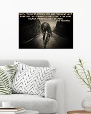 When Your Legs Scream Stop Cycling 24x16 Poster poster-landscape-24x16-lifestyle-01