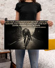 When Your Legs Scream Stop Cycling 24x16 Poster poster-landscape-24x16-lifestyle-20