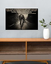When Your Legs Scream Stop Cycling 24x16 Poster poster-landscape-24x16-lifestyle-25