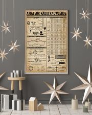 Amateur Radio Knowledge Poster 11x17 Poster lifestyle-holiday-poster-1
