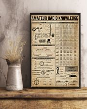 Amateur Radio Knowledge Poster 11x17 Poster lifestyle-poster-3