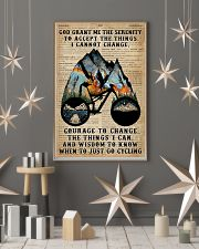 God grant me Dictionary Blue Cycling 11x17 Poster lifestyle-holiday-poster-1