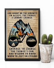 God grant me Dictionary Blue Cycling 11x17 Poster lifestyle-poster-8