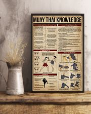 Muay Thai Knowledge 11x17 Poster lifestyle-poster-3
