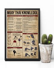 Muay Thai Knowledge 11x17 Poster lifestyle-poster-8