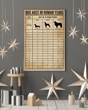Dog Ages In Human Years 11x17 Poster lifestyle-holiday-poster-1