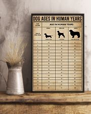 Dog Ages In Human Years 11x17 Poster lifestyle-poster-3