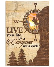Hiking  Live Your Life By A Compass 11x17 Poster front