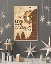 Hiking  Live Your Life By A Compass 11x17 Poster lifestyle-holiday-poster-1
