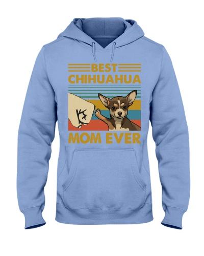 Retro Blue Best Chihuahua Mom Ever