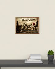 Come To The Woods For Here Is Rest Camping 24x16 Poster poster-landscape-24x16-lifestyle-09