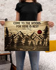 Come To The Woods For Here Is Rest Camping 24x16 Poster poster-landscape-24x16-lifestyle-20