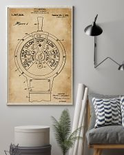 Boat's Speed Telegraph Patent Sailor 11x17 Poster lifestyle-poster-1