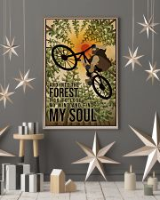 Retro And Into The Forest Mountain Bike 11x17 Poster lifestyle-holiday-poster-1