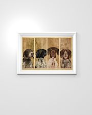 Vintage Four German Shorthaired Pointer 24x16 Poster poster-landscape-24x16-lifestyle-02